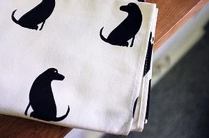 Labrador Print Tea Towel - kitchen accessories