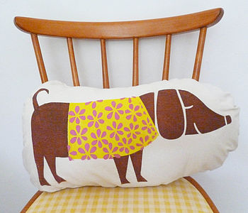 Handprinted Children's Dog Cushion