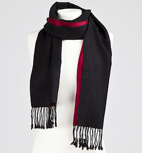 Woven Silk Scarf In Selection Of Styles - view all sale items
