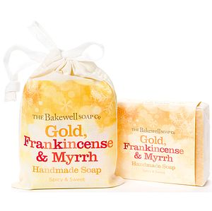 Gold, Frankincense And Myrrh Soap Bar - gift sets