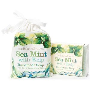 Sea Mint With Kelp Natural Soap And Gift Bag