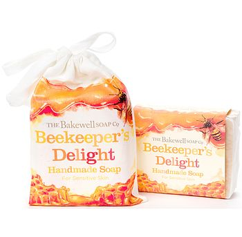 Beekeepers' Delight Honey Soap And Gift Bag