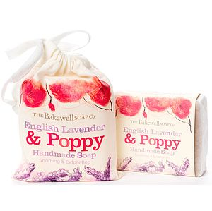 Lavender And Poppy Seed Soap And Gift Bag - gift sets