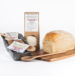 Home Baked Bread Starter Kit - bread & cheese