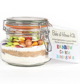Rainbow Cookie Baking Mix