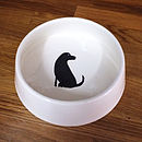 Labrador Dog Bowl