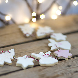 Christmas Cookie Garland - garlands & bunting