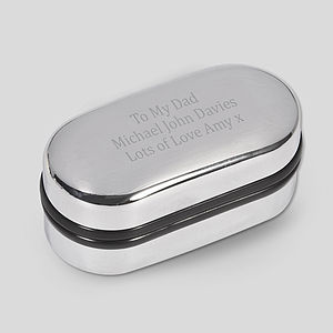 Personalised Cufflink Box - men's sale