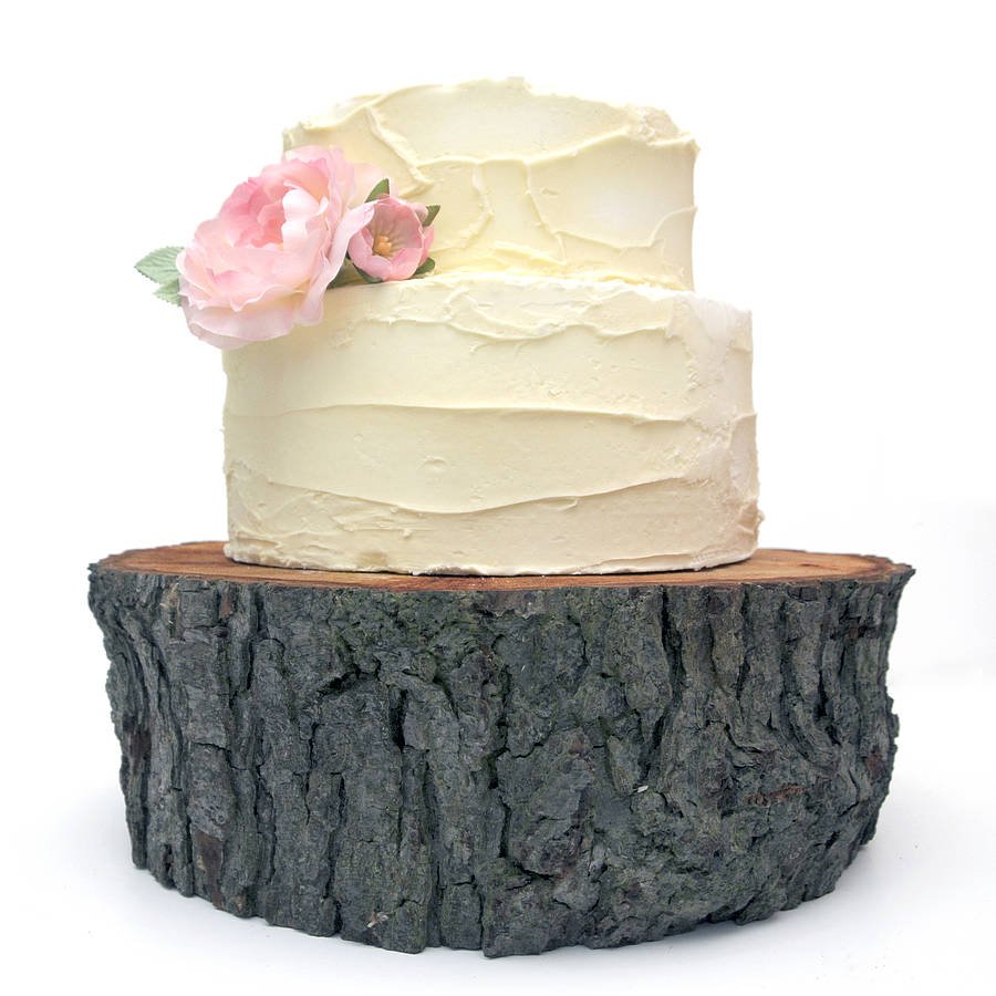 Tree Cake Stand By Cairn Wood Design Notonthehighstreet Com