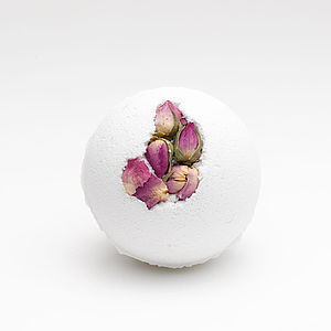 English Rose Bath Bomb - stocking fillers under £15