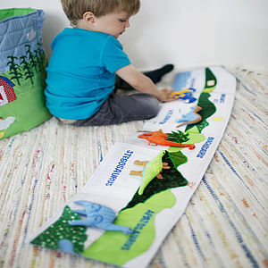 Dinosaur Soft Book - soft toys & dolls