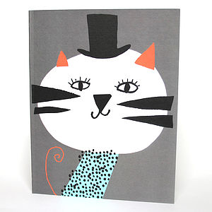 Circus Tiger Notebook - children's parties