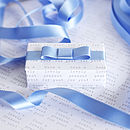 Pinks And Blues Satin Ribbon