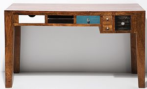 Upcycled Desk With Drawers - furniture