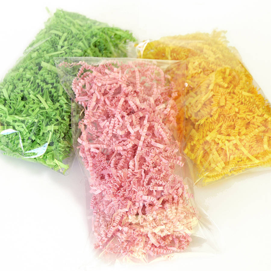 shredded paper for gifts