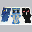 Set of Three Bamboo Socks - for the Animal Lovers