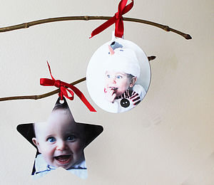 Photograph Hanging Decoration - christmas decorations