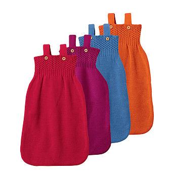 Organic Knitted Merino Baby Sleeping Bag