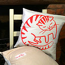 'Cat' Cushion