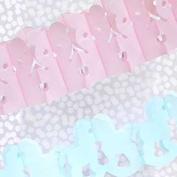 Baby Shower Paper Garland