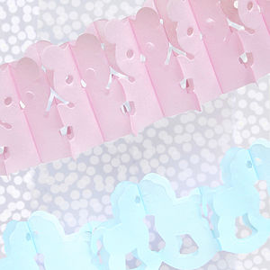 Baby Shower Paper Garland - baby shower decorations