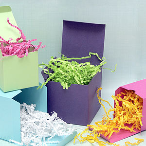 Decorative Gift Wrap Paper Shredding - wedding favours