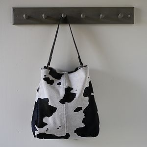 Windsor Cowhide Handbag - bags & purses