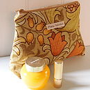 Make Up Bag William Morris Golden Lily