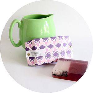 Raspberry Hand Made And Wrapped Soap - washing & bathing
