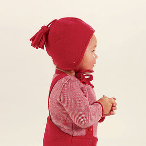 Organic Boiled Merino Wool Baby / Children's Hat