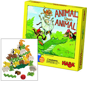 Animal Upon Animal Game - board games & puzzles