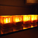 Home Tealight Candle Holder Set Of Four