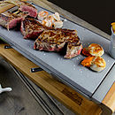 Black Rock Grill Sharing Steak Stones Grill Set