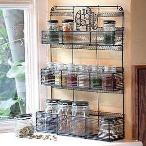 Elephant Spice Rack - kitchen accessories