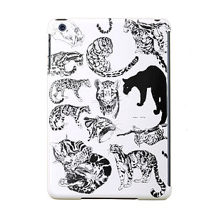 'Clouded Leopards' Design iPad Case - men's accessories