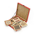 Chinese Wooden Games Set