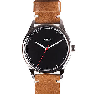 Miro Leather Watch - watches