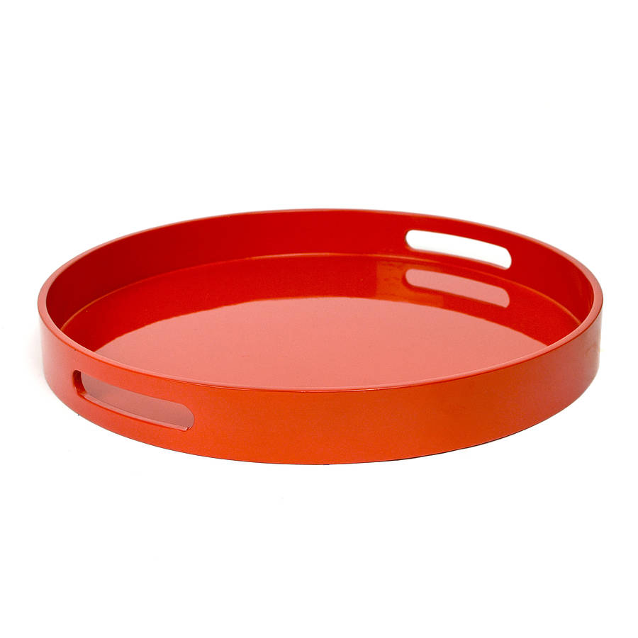 Lacquer Cocktail Tray By Nom Living Notonthehighstreet Com