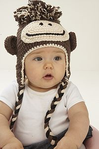 Cheeky Monkey Hat - hats, scarves & gloves
