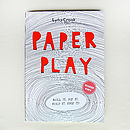 'Paper Play' Activity Book