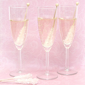 Crystal Sugar Stick - wedding favours