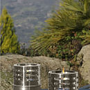 Outdoor Oil Lamps Set of 2