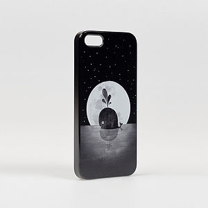 Whale Moon iPhone Cover - women's accessories