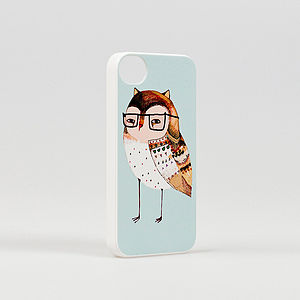 Little Owl iPhone Cover - technology accessories