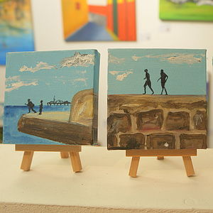 Seaside Painting - contemporary art