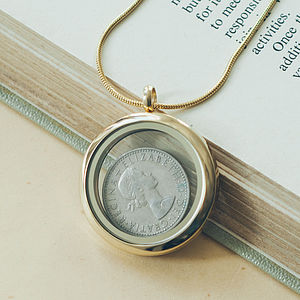 Children's Gold Memories Locket