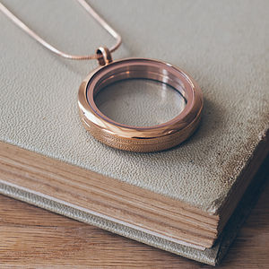 Children's Rose Gold Memories Locket