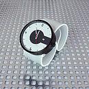 Silicone Strap Super Steel Black Watch