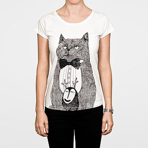 Cat Monster Women's T Shirt - women's fashion