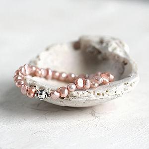 June Birthstone Pearl Bracelet - bracelets & bangles
